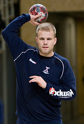 Nejc Poklar at Open training session for the public of Slovenian handball National Men team before European Championships Austria 2010, on December 27, 2009, in Terme Olimia, Podcetrtek, Slovenia.  (Photo by Vid Ponikvar / Sportida)