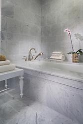 The Grand at Diamond Beach 9600 Atlantic Avenue Wildwood, NJ Designer Jeff Akseizer Master Bathroom
