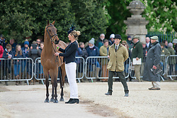 Jackson Lucy, (NZL), Willy Do<br /> First Horse Inspection - Mitsubishi Motors Badminton Horse Trials <br /> Badminton 2015