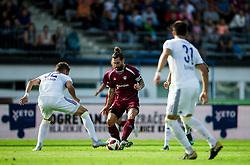 Luka Majcen of Triglav during football match between NK Triglav Kranj and NK Maribor in Round #7 of Prva liga Telekom Slovenije 2018/19, on September 2, 2018 in Kranj, Slovenia. Photo by Vid Ponikvar / Sportida