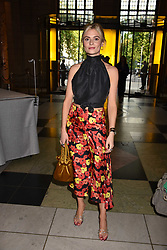 Pandora Sykes at the Balenciaga Shaping Fashion VIP Preview, The V&A Museum, London England. 24 May 2017.<br /> Photo by Dominic O'Neill/SilverHub 0203 174 1069 sales@silverhubmedia.com