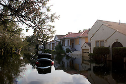05 Sept  2005. New Orleans, Louisiana. Post hurricane Katrina.<br /> Devastating floods in Uptown New Orleans.<br /> Photo; ©Charlie Varley/varleypix.com