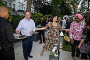 BEN ANDERSON; KIRSTY ALLSOP; HARDEEP SINGH KOHLI;  Tatler Summer Party. The Hempel. Craven Hill Gdns. London. 25 June 2008 *** Local Caption *** -DO NOT ARCHIVE-© Copyright Photograph by Dafydd Jones. 248 Clapham Rd. London SW9 0PZ. Tel 0207 820 0771. www.dafjones.com.