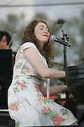 Regina Spektor performs on the fourth day of the 2010 Bonnaroo Music & Arts Festival on June 13, 2010 in Manchester, Tennessee. The four-day music festival features a variety of musical acts, arts and comedians..Photo by Bryan Rinnert/3Sight Photography