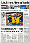 August 26, 2021 - UK: Front-page: Today's Newspapers In United Kingdom
