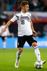 November 15, 2018 - Leipzig, Germany - Joshua Kimmich of Germany in action during the international friendly match between Germany and Russia on November 15, 2018 at Red Bull Arena in Leipzig, Germany. (Credit Image: © Mike Kireev/NurPhoto via ZUMA Press)