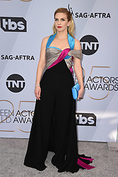 Rhea Seehorn attends the 25th Annual Screen Actors Guild Awards at The Shrine Auditorium on January 27, 2019 in Los Angeles, CA, USA. ©Lionel Hahn/ABACAPRESS.COM