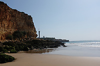 Praia da Angrinha<br /> Beach in Ferragudo, Portugal, Portugal during Lockdown 2012n   Portugal announces when borders will open to Brits including travellers without vaccine photo by Dawn Fletcher Park