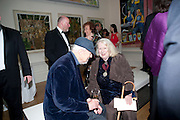 GILLIAN AYRES, Annual Dinner. Royal Academy of Arts. Piccadilly. London. 8 June 2010. -DO NOT ARCHIVE-© Copyright Photograph by Dafydd Jones. 248 Clapham Rd. London SW9 0PZ. Tel 0207 820 0771. www.dafjones.com.