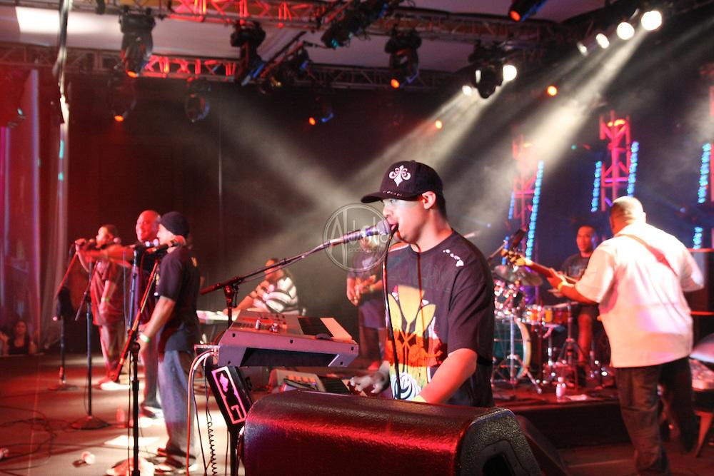 Nesian Nine at Fallfest '10 at Snoqualmie Casino on September 11, 2010.