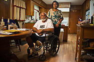 Sharon Lavigne and Milton Cayette Jr, her brother , at his home in St. James, LA.