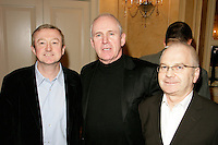 Louis Walsh, John Reed and guest