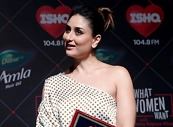 November 20, 2018 - Mumbai, Maharashtra, India - Actress Kareena Kapoor Khan seen during the launch of the Ishq 104.8 FM's show. .What Women Want in Mumbai is Kareena Kapoor Khan to announce her new role as a RJ for Ishq 104.8 FM. (Credit Image: © Azhar Khan/SOPA Images via ZUMA Wire)