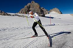 Barbara Jezersek during Training camp of Slovenian Cross country Ski team on October 23, 2012 in Dachstein Getscher, Austria. (Photo By Vid Ponikvar / Sportida)
