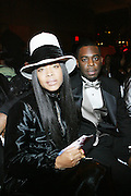 Erykah Badu and Evan Wright at The 3rd Annual Black Girls Rock Awards held at the Rose Building at Lincoln Center in New York City on November 2, 2008..BLACK GIRLS ROCK! Inc. is a 501 (c)(3) nonprofit, youth empowerment mentoring organization established for young women of color.  Proceeds from ticket sales will benefit BLACK GIRLS ROCK! Inc.?s mission to empower young women of color via the arts.  All contributions are tax deductible to the extent allowed by