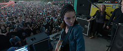 RELEASE DATE: March 17, 2017 TITLE: Song To Song STUDIO: Broad Green Pictures DIRECTOR: Terrence Malick PLOT: Two intersecting love triangles. Obsession and betrayal set against the music scene in Austin, Texas. STARRING: ROONEY MARA as Faye. (Credit Image: ? Broad Green Pictures/Entertainment Pictures/ZUMAPRESS.com)