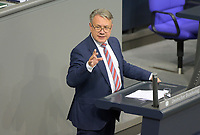 DEU, Deutschland, Germany, Berlin, 01.10.2020: Dr. Georg Nüßlein (CSU) bei seiner Rede während der Haushaltsdebatte im Plenarsaal des Deutschen Bundestags.
