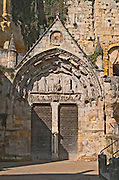 Monolithic Church The town. Saint Emilion, Bordeaux, France