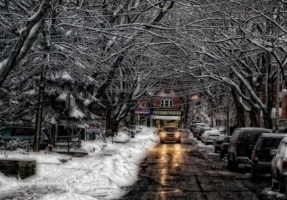 The Beaches neighbourhood of Toronto (Canada).