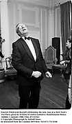 Vincent Poklewski-Koziell celebrating the new year at a New Year's Eve Party given by Erskine & Louise Guinness. Knockmaron House. Dublin. 1 January 1988. Film. 871141f21<br />© Copyright Photograph by Dafydd Jones<br />66 Stockwell Park Rd. London SW9 0DA<br />Tel 0171 733 0108