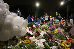 March 16, 2019 - Christchurch, New Zealand - Flowers seen laying down to pay respect to the victims of the Christchurch mosques shooting. Around 50 people has been reportedly killed a terrorist attack on two Christchurch mosques. (Credit Image: © Adam Bradley/SOPA Images via ZUMA Wire)