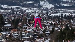 30.01.2016, Normal Hill Indiviual, Oberstdorf, GER, FIS Weltcup Ski Sprung Ladis, Bewerb, im Bild Kinga Rajda (POL) // Kinga Rajda of Poland during her Competition Jump of FIS Ski Jumping World Cup Ladis at the Normal Hill Indiviual, Oberstdorf, Germany on 2016/01/30. EXPA Pictures © 2016, PhotoCredit: EXPA/ Peter Rinderer