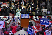"8/24/16 Jackson,MS. 8/24/16 Jackson,MS. Republican Presidential candidate Donald J. Trump stumps in Jackson Mississippi at the coliseum to a full house of mostly white supporters and calls Hillary Clinton a ""bigot"" during his speech. While in Jackson Trump also made time to squeezed in a very private $1,000 dollar  per person fundraiser. It was so private you did not get the address for the location until the campaign received your donation. Photo © Suzi Altman"