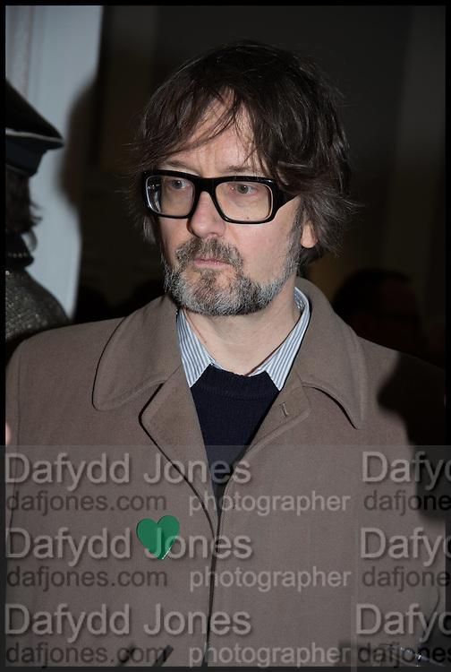 JARVIS COCKER, Private view, Paul Simonon- Wot no Bike, ICA Nash and Brandon Rooms, London. 20 January 2015