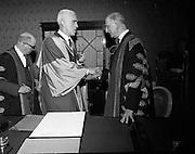 Honorary Degrees at National University of Ireland (NUI).22/04/1970