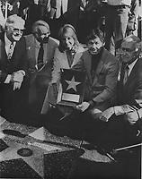 1980 Charles Bronson's Walk of Fame ceremony