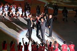 Os Campeões de 1975 na Festa Gigante - Reinauguração do Beira-Rio, neste sábado 05 de abril de 2014. O estádio Beira Rio receberá os jogos da Copa do Mundo de Futebol 2014. FOTO: Jefferson Bernardes/ Agência Preview