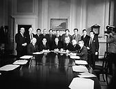 Irish Cabinets 1954 - 1992