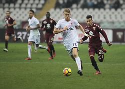 January 6, 2018 - Turin, Italy - Filip Helander during Serie A match between Torino v Bologna, in Turin, on January 6, 2018  (Credit Image: © Loris Roselli/NurPhoto via ZUMA Press)