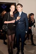 NATY CHABANENKO; MARK HAMPTON, Wallpaper Design Awards 2012. 10 Trinity Square<br /> London,  11 January 2011.