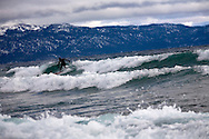 Winter surfing on Tahoe- Scott Gaffney