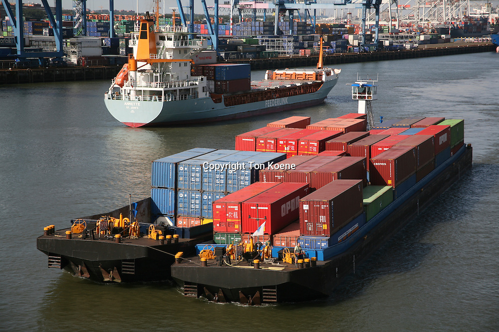 container transport in Holland
