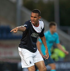 Falkirk's Phil Roberts.<br /> Falkirk 2 v 1 Dunfermline, Scottish League Cup, 27/8/2013, at The Falkirk Stadium.<br /> ©Michael Schofield.