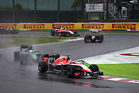 BIANCHI Jules (Fra) Marussia Mr03 action during the 2014 Formula One World Championship, Japan Grand Prix from October 3rd to 5th 2014 in Suzuka. Photo Clement Marin / DPPI