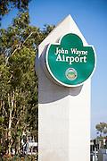 Information Monument at John Wayne Airport