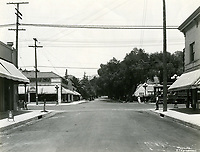 1924 Looking north up Wilcox Ave. at Hollywood Blvd.