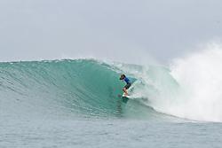 Aug 25, 2018 - Lagundri Bay, Indonesia -  Elliot P-Reid during Nias Pro in Lagundri Bay, Indonesia. (Credit Image: ? WSL/ZUMA Wire/ZUMAPRESS.com)