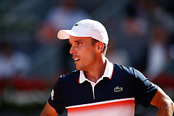 May 7, 2019 - Madrid, MADRID, SPAIN - Roberto Bautista Agut (ESP) during the Mutua Madrid Open 2019 (ATP Masters 1000 and WTA Premier) tenis tournament at Caja Magica in Madrid, Spain, on May 07, 2019. (Credit Image: © AFP7 via ZUMA Wire)