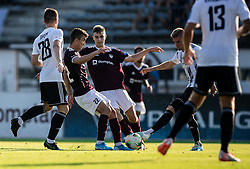 Egzon Kryeziu of Triglav during football match between NK Triglav and NS Mura in 5th Round of Prva liga Telekom Slovenije 2019/20, on August 10, 2019 in Sports park, Kranj, Slovenia. Photo by Vid Ponikvar / Sportida