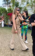 Gigi Hadid looks zoo keeper chic - 14 April 2019