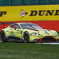 #95, Aston Martin Racing, Aston Martin Vantage AMR, LMGTE Pro, driven by: Marco Sorensen, Nicki Thiim at FIA WEC Silverstone 6h, 2018 on 17.08.2018