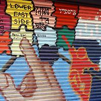 Lower East Side map mural