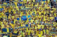 sweden supporters<br /> Nizhny Novgorod 16-06-2018 Football FIFA World Cup Russia  2018 <br /> Sweden - South Korea / Svezia - Corea del Sud <br /> Foto Matteo Ciambelli/Insidefoto