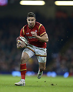 Rhys Webb of Wales in action.RBS Six Nations 2017 international rugby, Wales v Ireland at the Principality Stadium in Cardiff , South Wales on Friday 10th March 2017.  pic by Andrew Orchard, Andrew Orchard sports photography