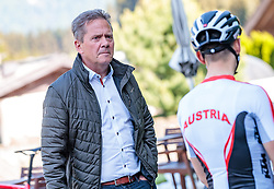 25.04.2018, Bad Häring, AUT, ÖRV Trainingslager, UCI Straßenrad WM 2018, im Bild Franz Steinberger (Ö-Tour Direktor) // during a Testdrive for the UCI Road World Championships in Bad Häring, Austria on 2018/04/25. EXPA Pictures © 2018, PhotoCredit: EXPA/ JFK