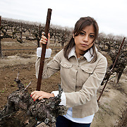 Alesia, one of the many women who have reported being sexually harassed while working in the fields in Central California. Please contact Todd Bigelow directly with your licensing requests.